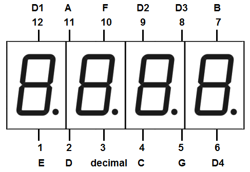4-digit-7-segment-led-display-pinout